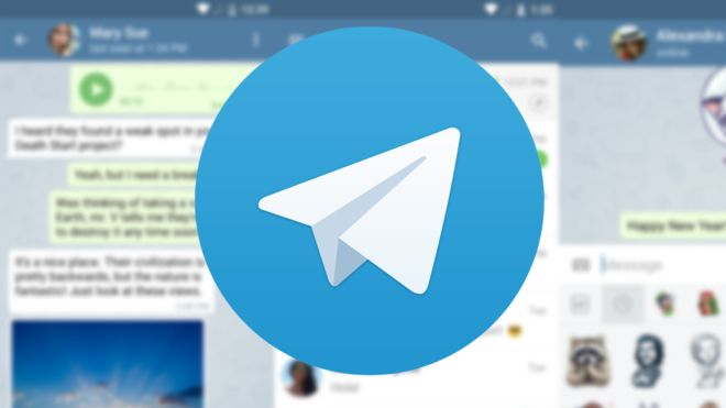 Telegram URL caching